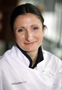 Michelin 3 star chef Anne-Sophie Pic